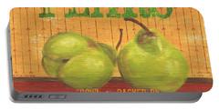Farm Fresh Fruit 1 Portable Battery Charger by Debbie DeWitt