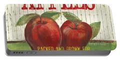 Farm Fresh Fruit 3 Portable Battery Charger by Debbie DeWitt