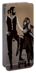 Fleetwood Mac Rumours Portable Battery Charger by Paul Meijering