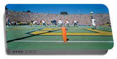 Football Game, University Of Michigan Portable Battery Charger by Panoramic Images