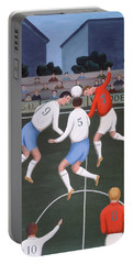 Football Portable Battery Charger by Jerzy Marek