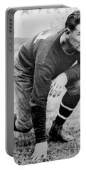 Football Player Jim Thorpe Portable Battery Charger by Underwood Archives