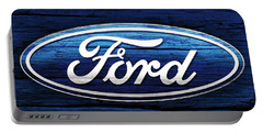 Ford Barn Door Portable Battery Charger by Dan Sproul