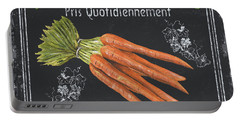 French Vegetables 4 Portable Battery Charger by Debbie DeWitt