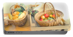 Fresh Harvest Portable Battery Charger by Tom Gowanlock