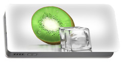 Frozen Fruit Portable Battery Charger by Veronica Minozzi