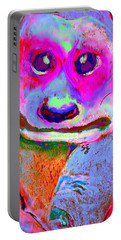 Funky Meerkat Tunnel Art Print Portable Battery Charger by Sue Jacobi
