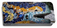 Gaudi Dragon Portable Battery Charger by Joan Carroll