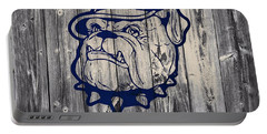 Georgetown Hoyas Barn Portable Battery Charger by Dan Sproul