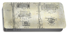 Gibson Les Paul Patent Drawing Portable Battery Charger by Jon Neidert