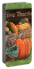 Give Thanks Portable Battery Charger by Debbie DeWitt