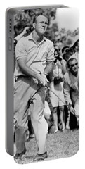 Golfer Arnold Palmer Portable Battery Charger by Underwood Archives