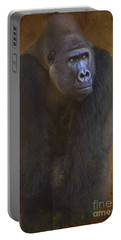 Gorilla The Muscleman Portable Battery Charger by Heiko Koehrer-Wagner