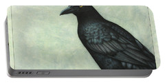 Grackle Portable Battery Charger by James W Johnson