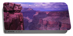 Grand Canyon, Arizona, Usa Portable Battery Charger by Panoramic Images