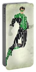 Green Lantern Portable Battery Charger by Ayse Deniz