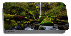 Green Seasons Portable Battery Charger by Chad Dutson
