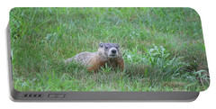 Groundhog Reconnaissance Portable Battery Charger by Neal  Eslinger