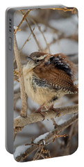 Grumpy Bird Portable Battery Charger by Bill Wakeley