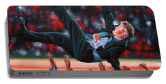 Guus Hiddink Portable Battery Charger by Paul Meijering