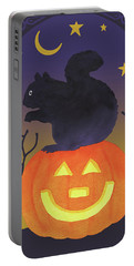 Halloween Critter Iv Portable Battery Charger by Beth Grove
