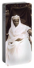 Harriet Tubman Portrait 1911  Portable Battery Charger by Unknown