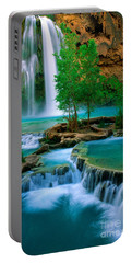 Havasu Canyon Portable Battery Charger by Inge Johnsson
