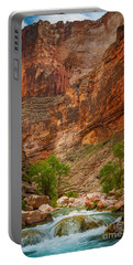 Havasu Creek Number 3 Portable Battery Charger by Inge Johnsson