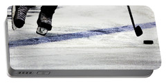 He Skates Portable Battery Charger by Karol Livote