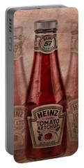 Heinz Tomato Ketchup Portable Battery Charger by Dan Sproul