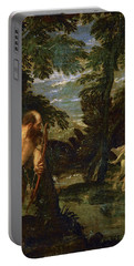 Hercules Deianira And The Centaur Nessus Portable Battery Charger by Paolo Veronese