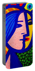 Homage To Pablo Picasso Portable Battery Charger by John  Nolan