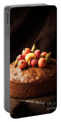 Homemade Rich Fruit Cake Portable Battery Charger by Amanda Elwell