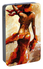 Hot Breeze  Portable Battery Charger by Emerico Imre Toth
