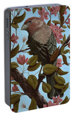 House Finch Portable Battery Charger by Rick Bainbridge