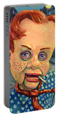 Howdy Von Doody Portable Battery Charger by James W Johnson