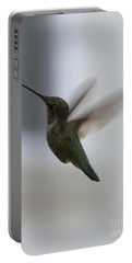 Hummingbird In Flight Portable Battery Charger by Carol Groenen