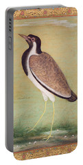 Indian Lapwing Portable Battery Charger by Mansur
