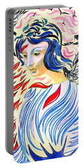 Inner Peace Portable Battery Charger by Jane Small