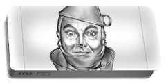 Jack Haley As The Tin Man Portable Battery Charger by Greg Joens