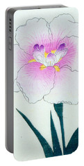 Japanese Flower Portable Battery Charger by Japanese School