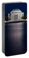Jefferson Memorial Washington D C Portable Battery Charger by Steve Gadomski