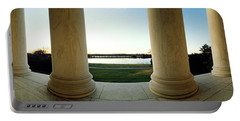 Jefferson Memorial Washington Dc Portable Battery Charger by Panoramic Images