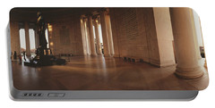Jefferson Memorial Washington Dc Usa Portable Battery Charger by Panoramic Images