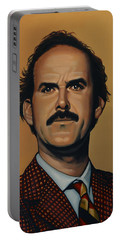 John Cleese Portable Battery Charger by Paul Meijering