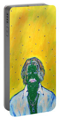 Johnny And Many Flies Portable Battery Charger by Fabrizio Cassetta