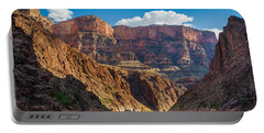 Journey Through The Grand Canyon Portable Battery Charger by Inge Johnsson