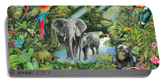 Jungle Portable Battery Charger by Mark Gregory