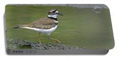 Killdeer Walking Portable Battery Charger by Sharon Talson
