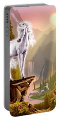 King Of The Valley Portable Battery Charger by Garry Walton